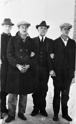 Sheriff Hatch with the Lyon Brothers