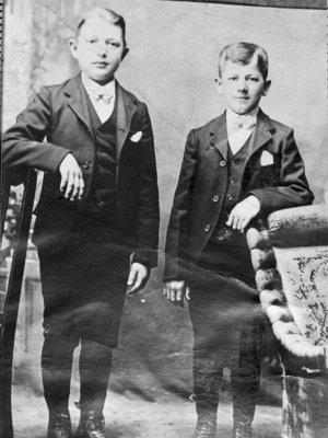 Arthur Linke and Otto Schroeder