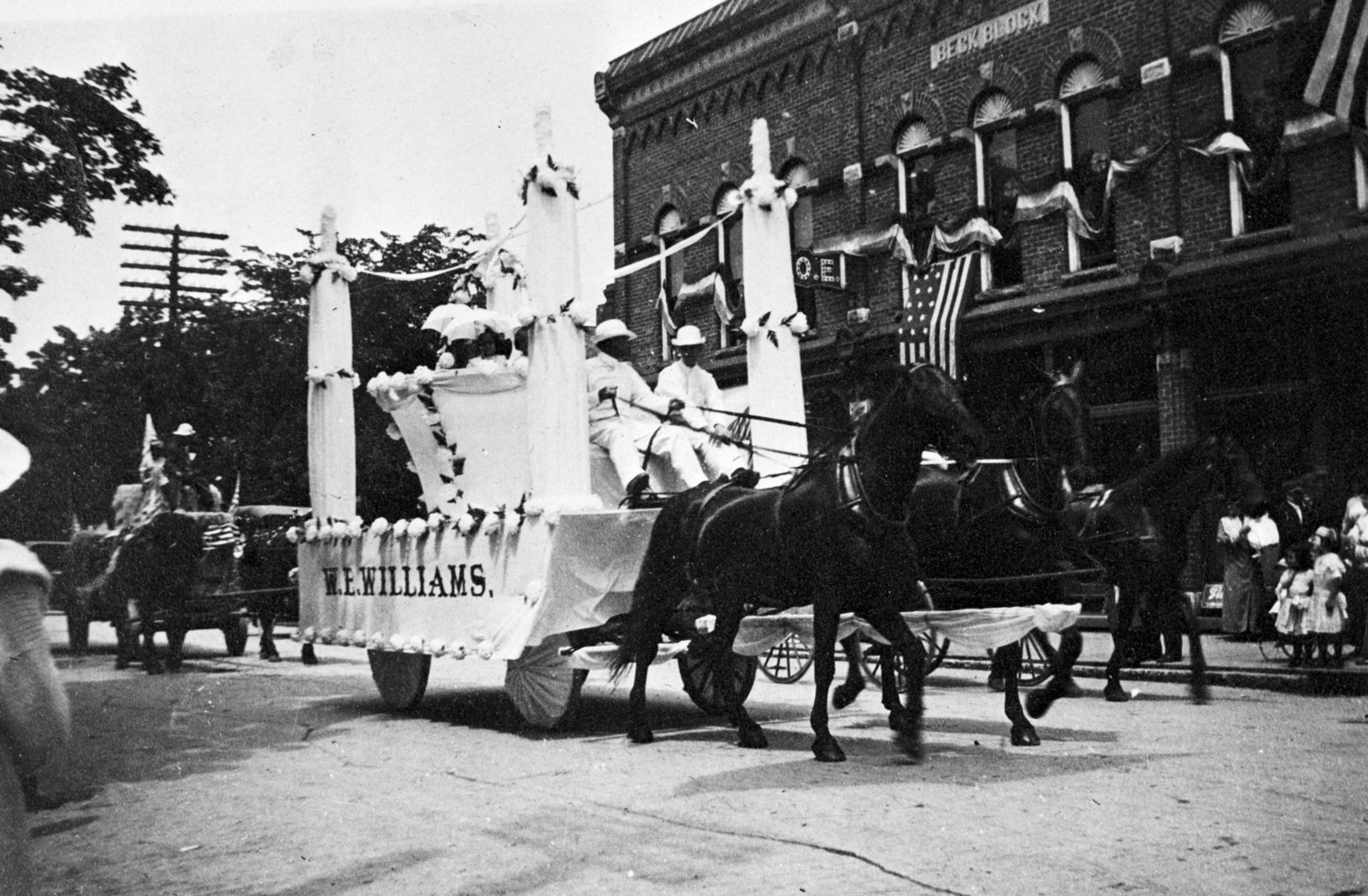 W.E. Williams Parade Float