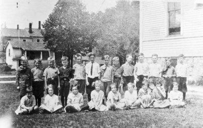 Franklin School Students