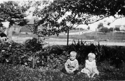 Children Outside in Summer