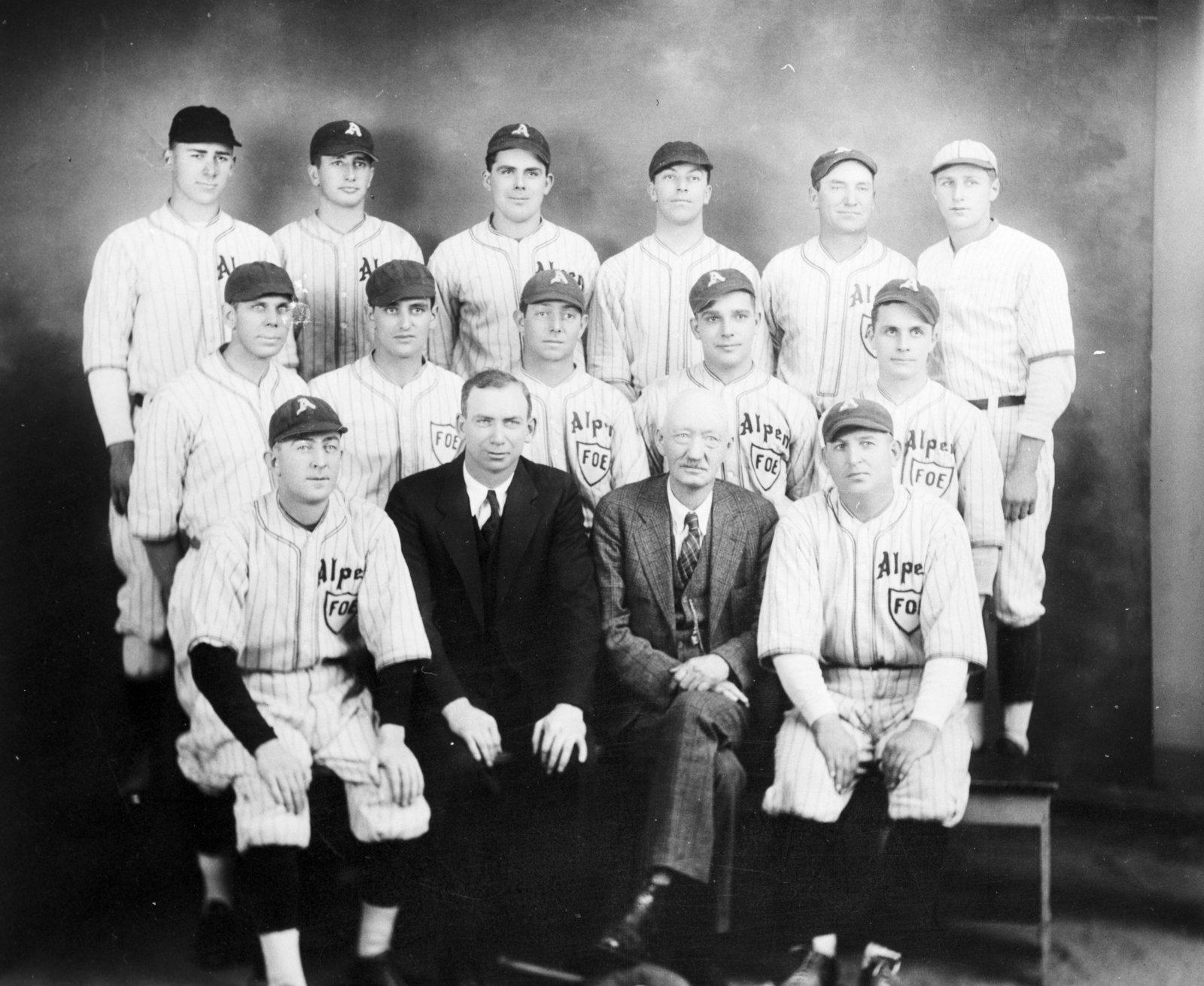 Alpena F.O.E. Baseball Team