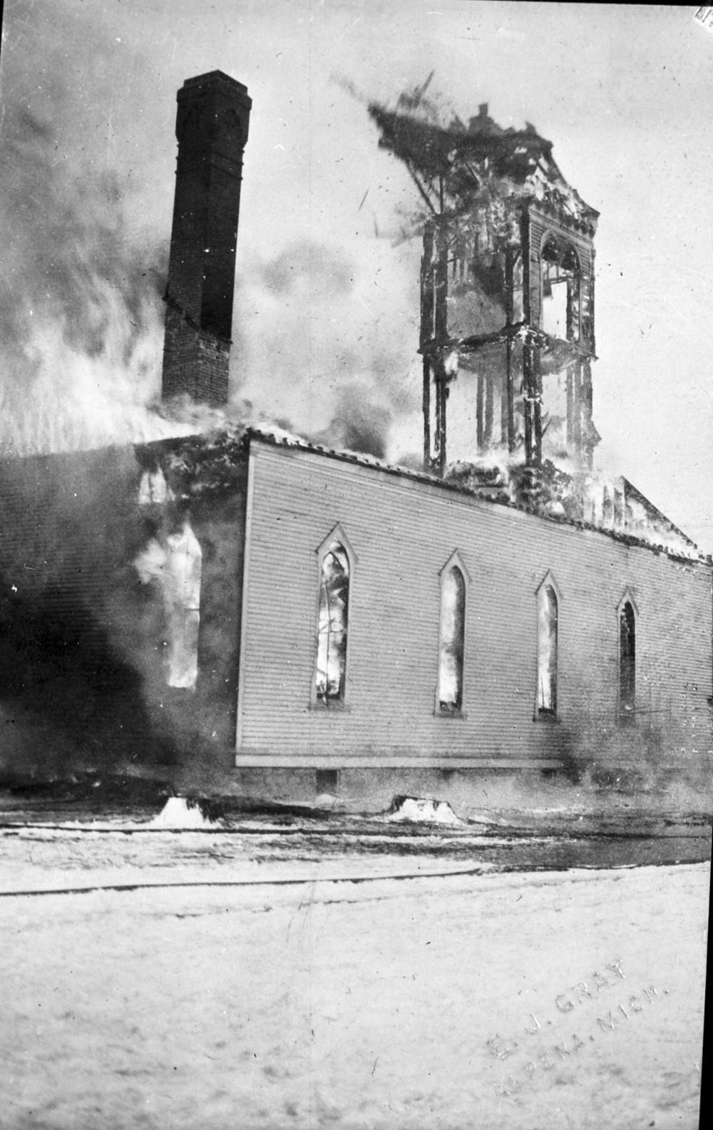 St. Paul Lutheran Church Fire