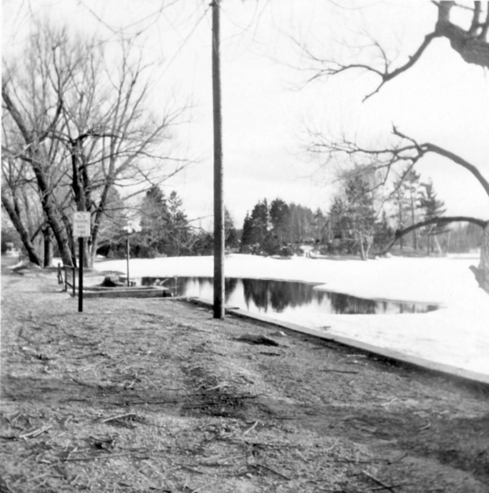 Thunder Bay River, April 1960