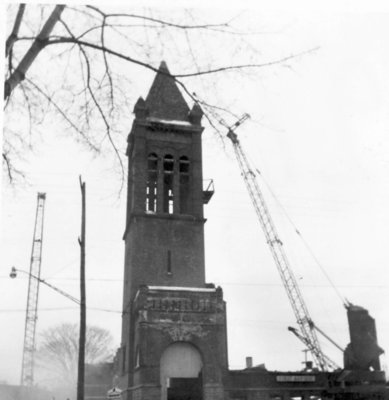 Razing First Baptist Church