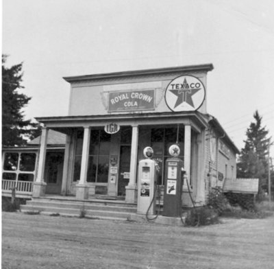 Texaco Gas Station: Northeast Michigan Oral History Archive