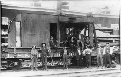 LSMS Railroad Car