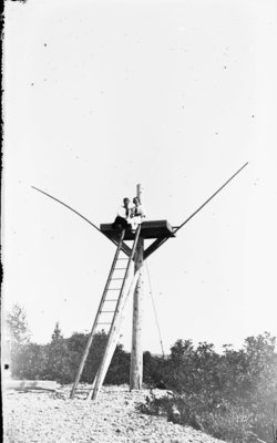 Middle Island:  Sitting atop Training Platform