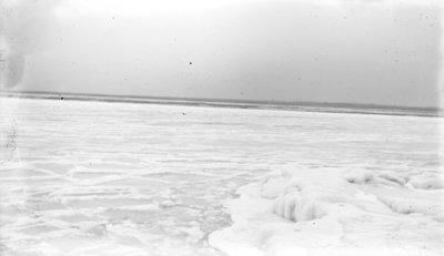 Middle Island:  Ice on Lake Huron