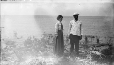 Middle Island:  Lillian and George Hartlep