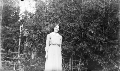 Middle Island:  Pictured is possibly Lois Olson.