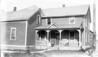 Hartlep Home at 616 Lockwood Street, Alpena, Michigan.