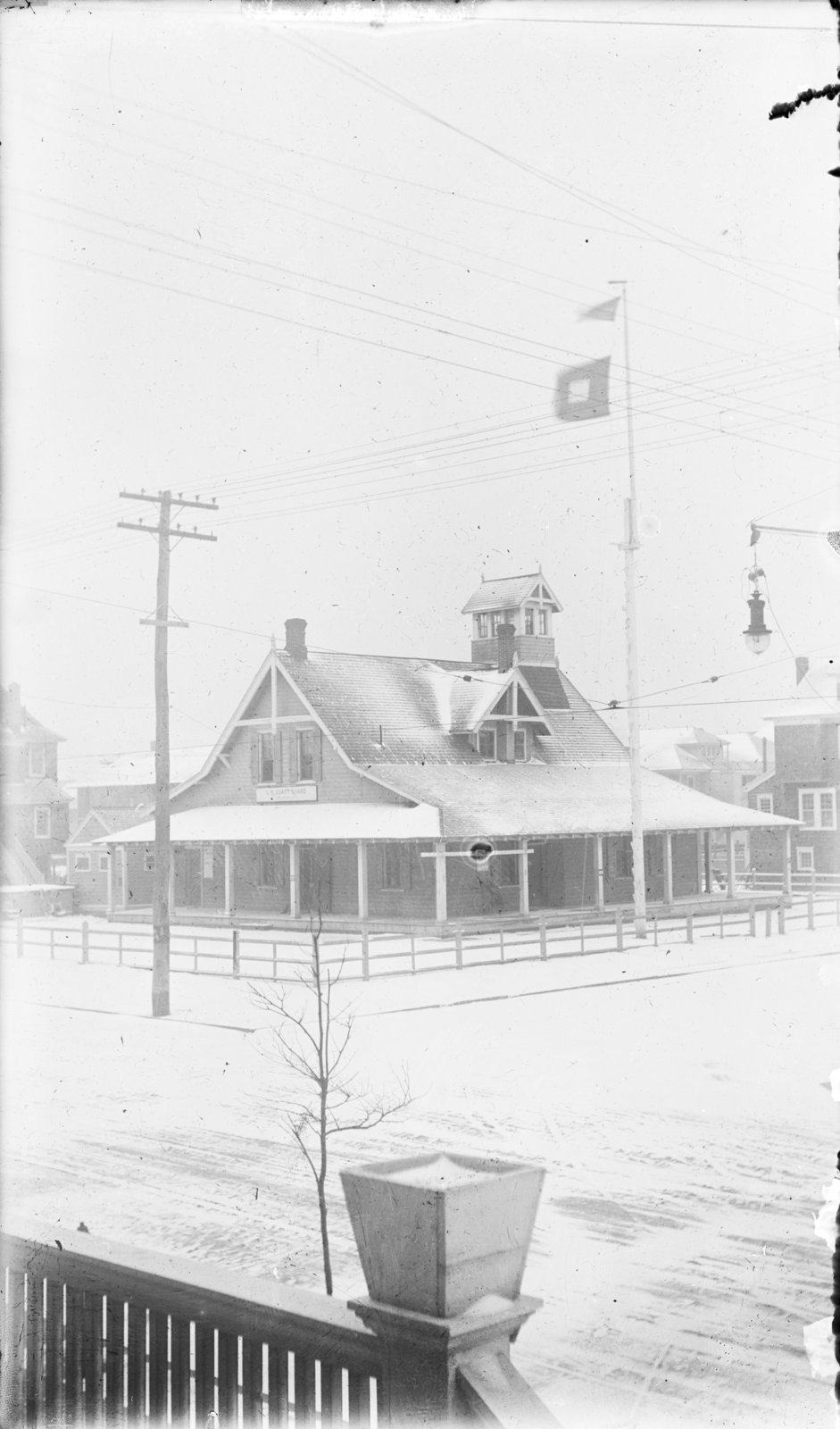 Unidentified U.S. Coast Guard Station