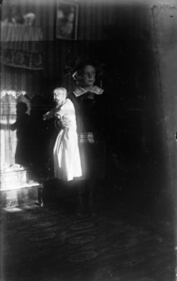 Esther Hartlep with Doll