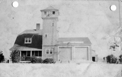 Grand Marais Life Saving Station