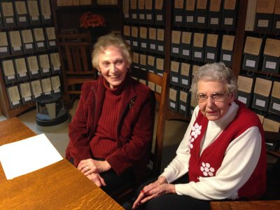 Doris Knechtel & Hattie Sheppler Interview