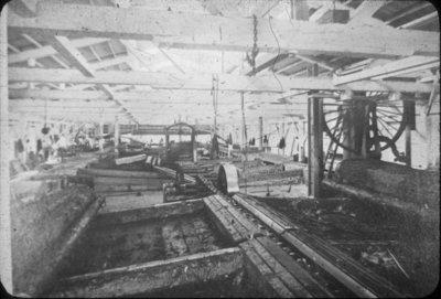 Sawmill Interior