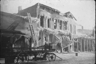 Armory Ruins After 1919 Fire