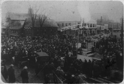Laying of the Federal Building Cornerstone