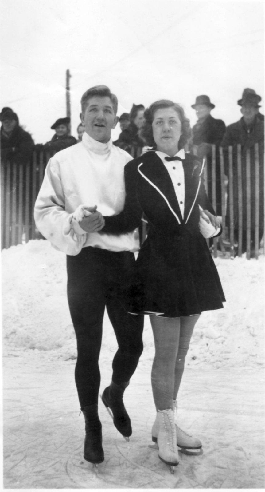 Arthur (of Albert) Linke and Margaret Linke