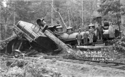 Train Wreck at Sigma, Michigan