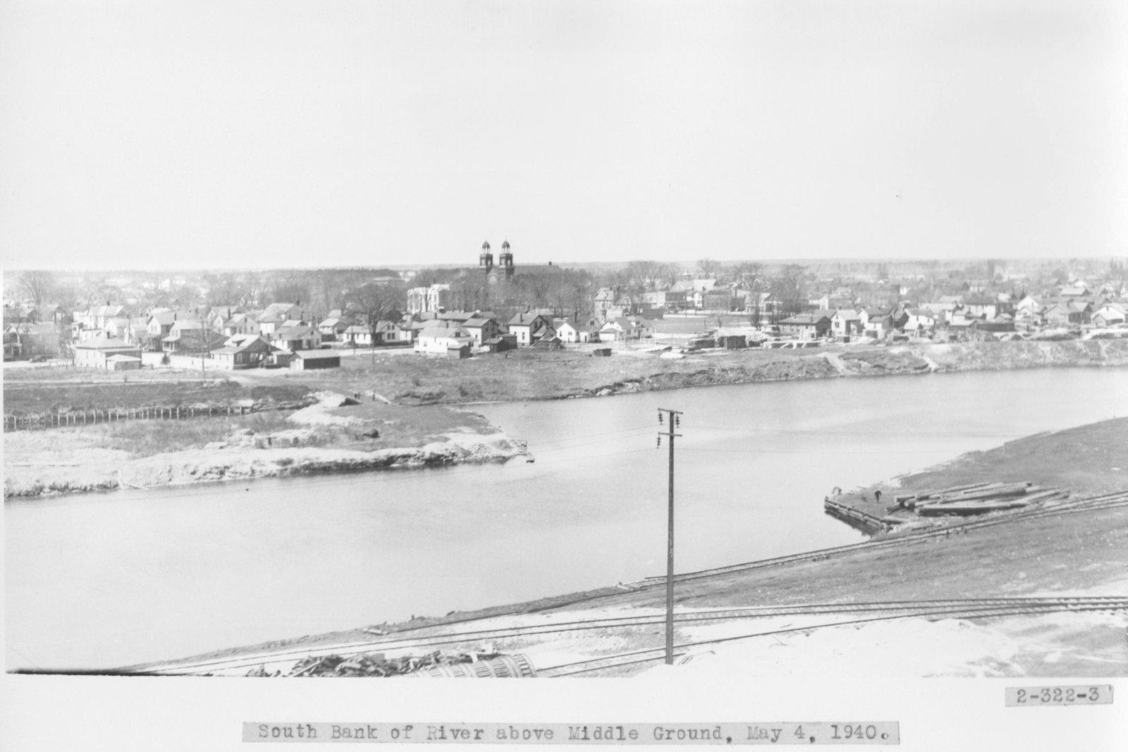 Thunder Bay River at Alpena, Michigan