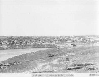 Thunder Bay River below the Ninth Street Dam