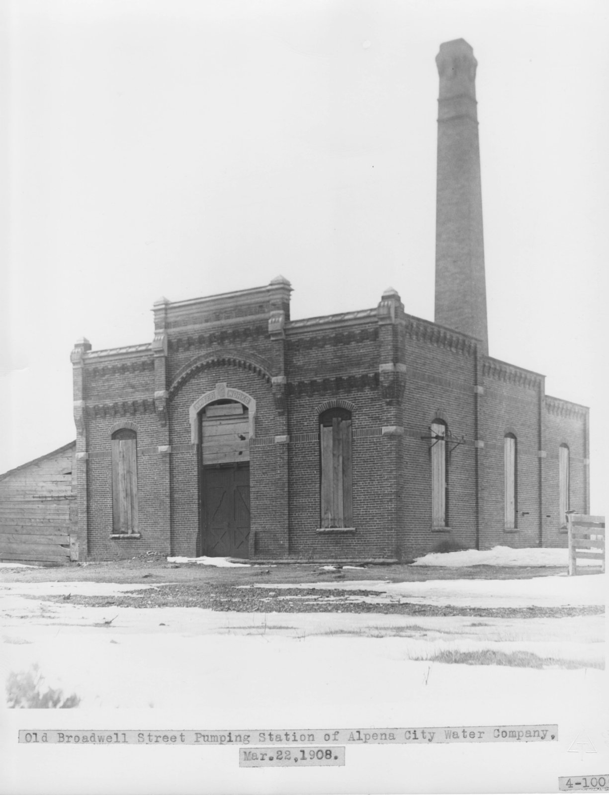 Alpena City Water Pumping Station
