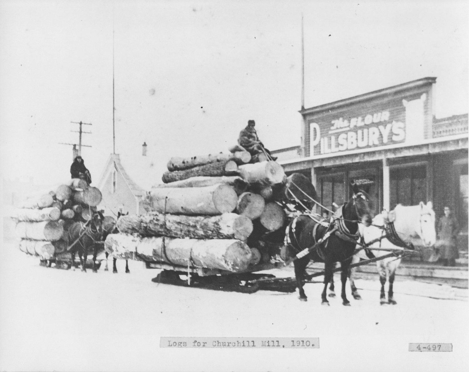 Logs for Churchill Mill