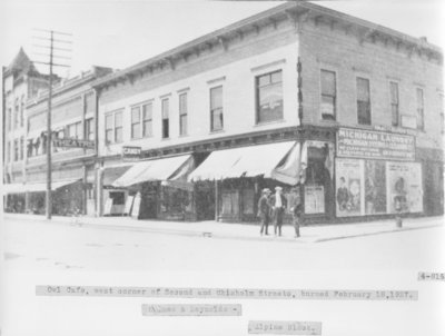 Holmes & Reynolds - Alpine Block, Downtown Alpena