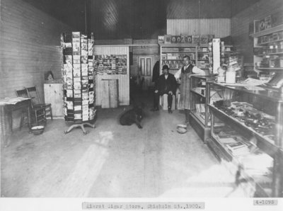 Interior of Cigar Store in Downtown Alpena
