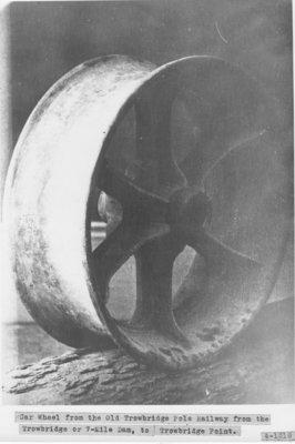 Trowbridge Railway Car Wheel