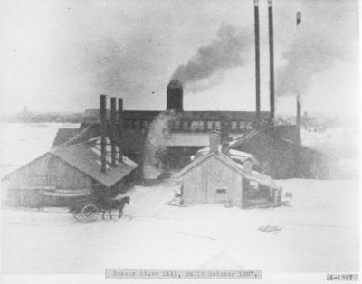 Besser - Churchill Company Stave Mill