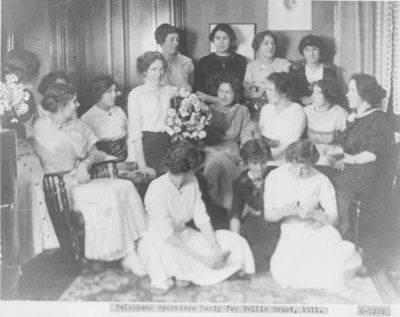 Telephone Operator Party for Nellie Grant