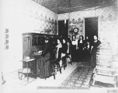 City Telephone Switchboard and Operators