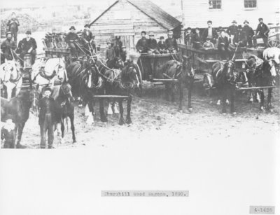 Churchill Lumber Company Horse Teams