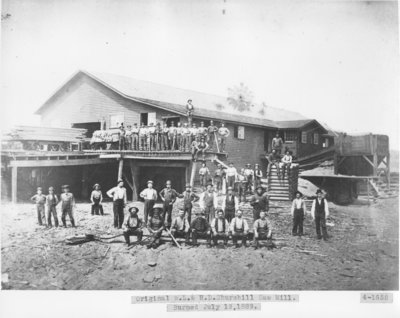 Churchill Lumber Company Saw Mill