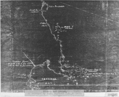 Survey of the Region of Thunder Bay, Michigan