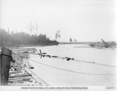 Jenny Sorting Gap, Thunder Bay River