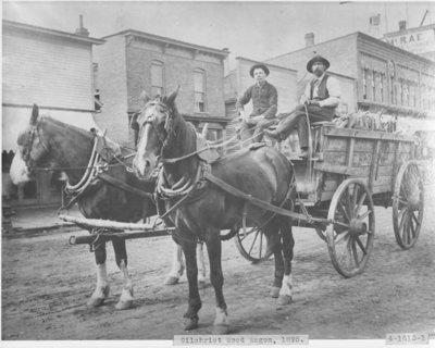 Gilchrist Lumber Company Wagon
