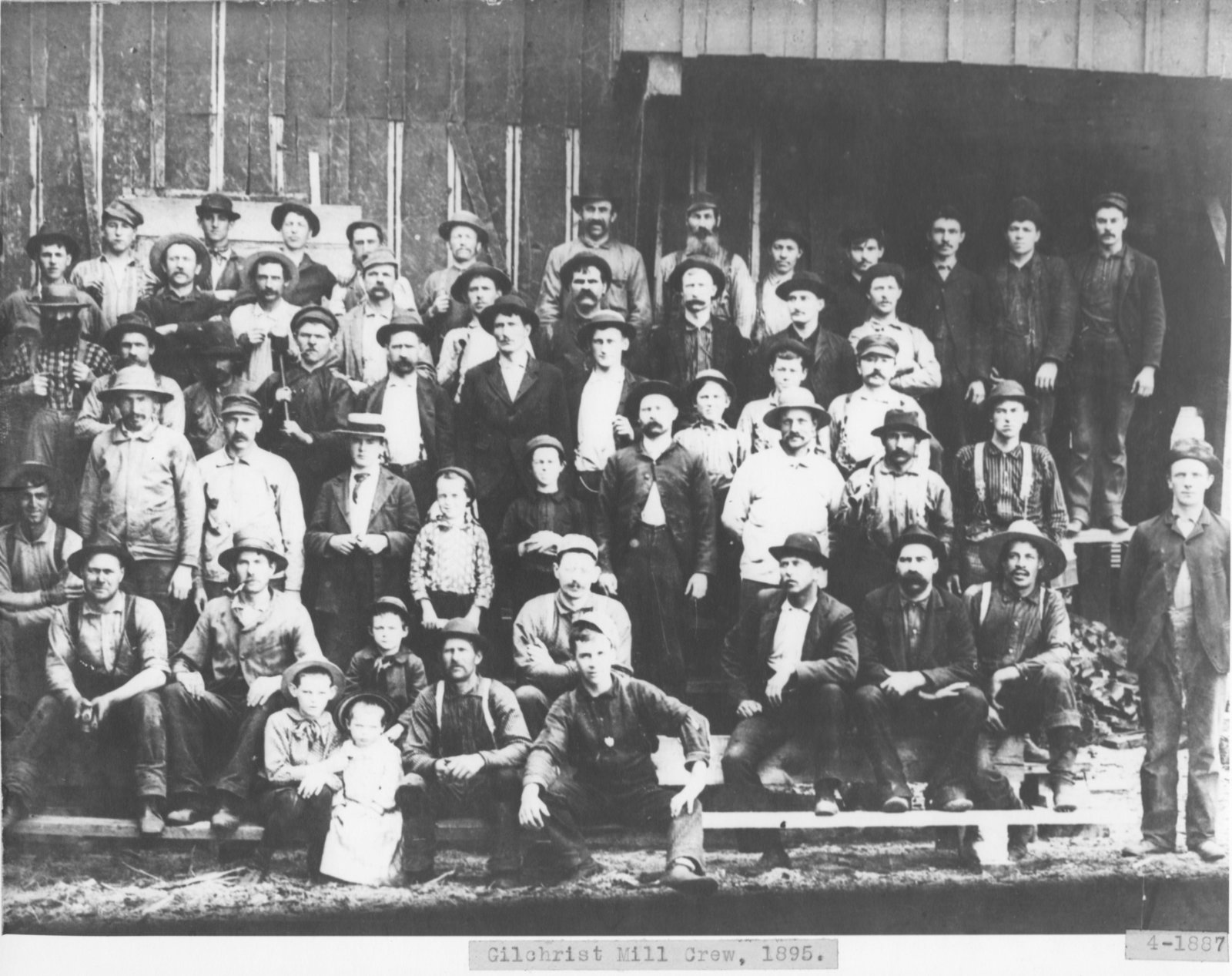 Gilchrist Lumber Company Mill Crew