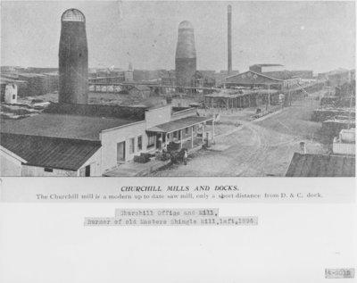 Churchill Lumber Company Mill and Dock