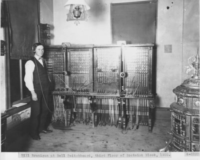 Bell Telephone Company Switchboard