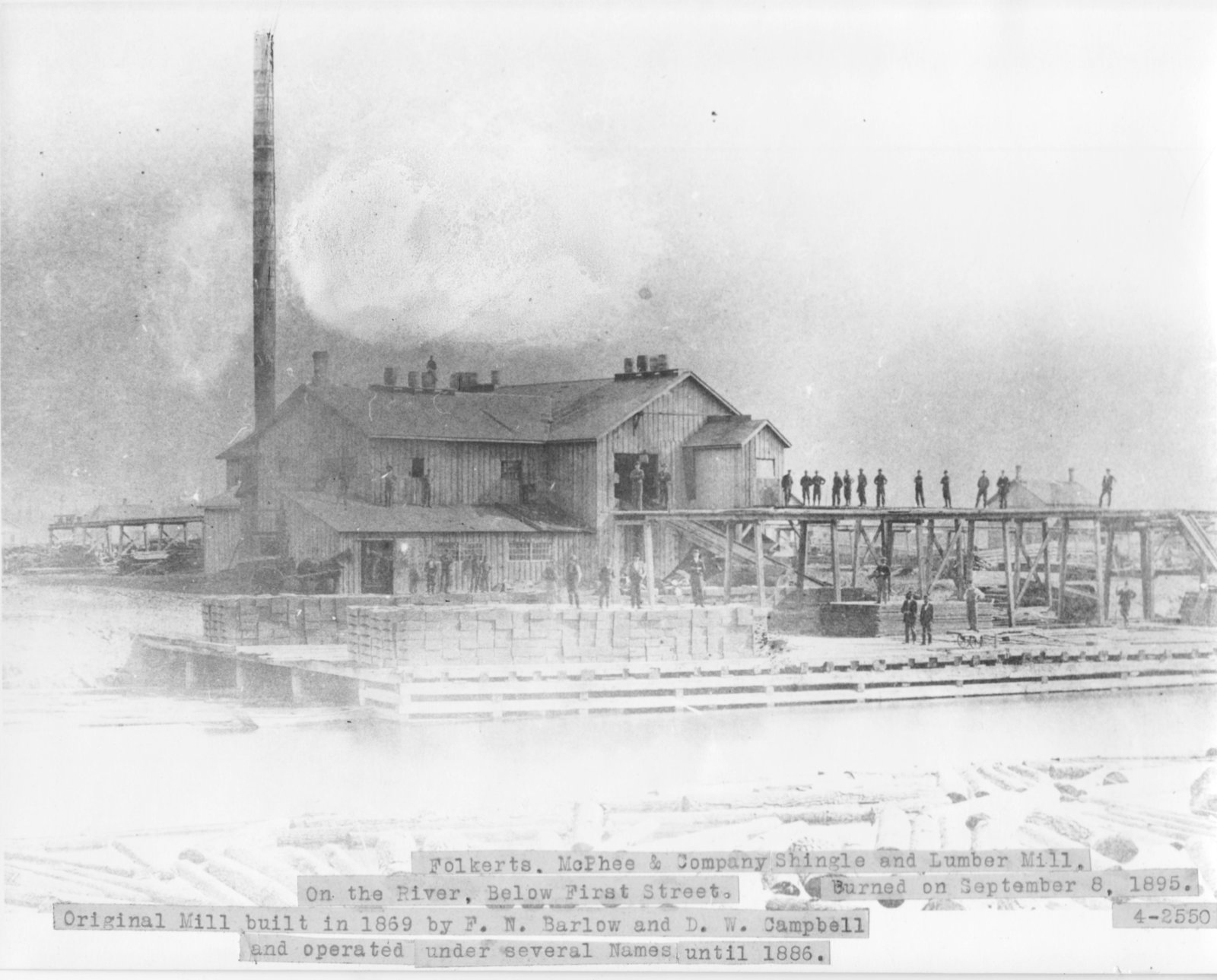 Folkerts, McPhee & Company Shingle and Lumber Mill