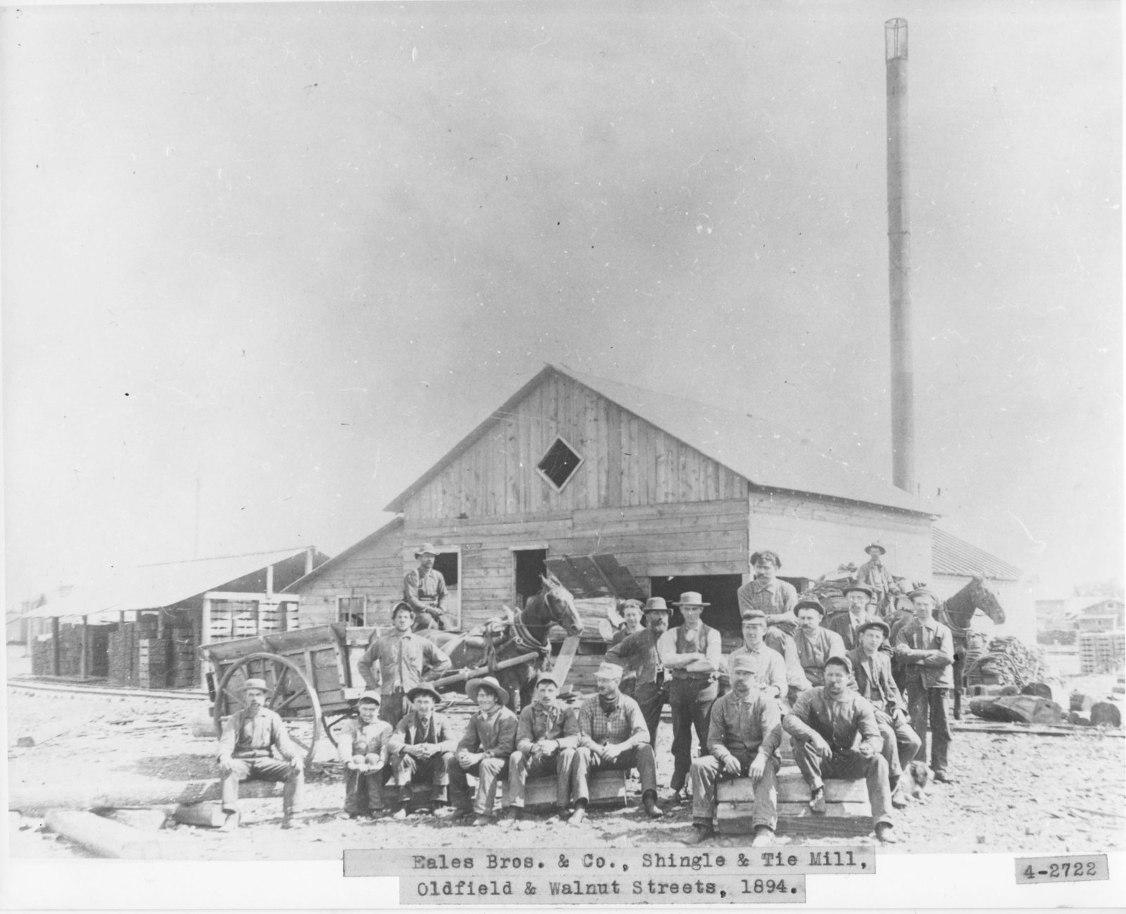 Eales Brothers & Company Shingle & Tie Mill