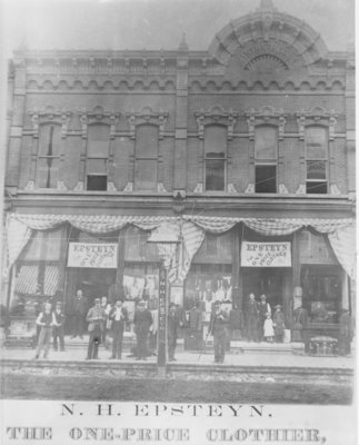 Epsteyn Clothing Store, Downtown Alpena