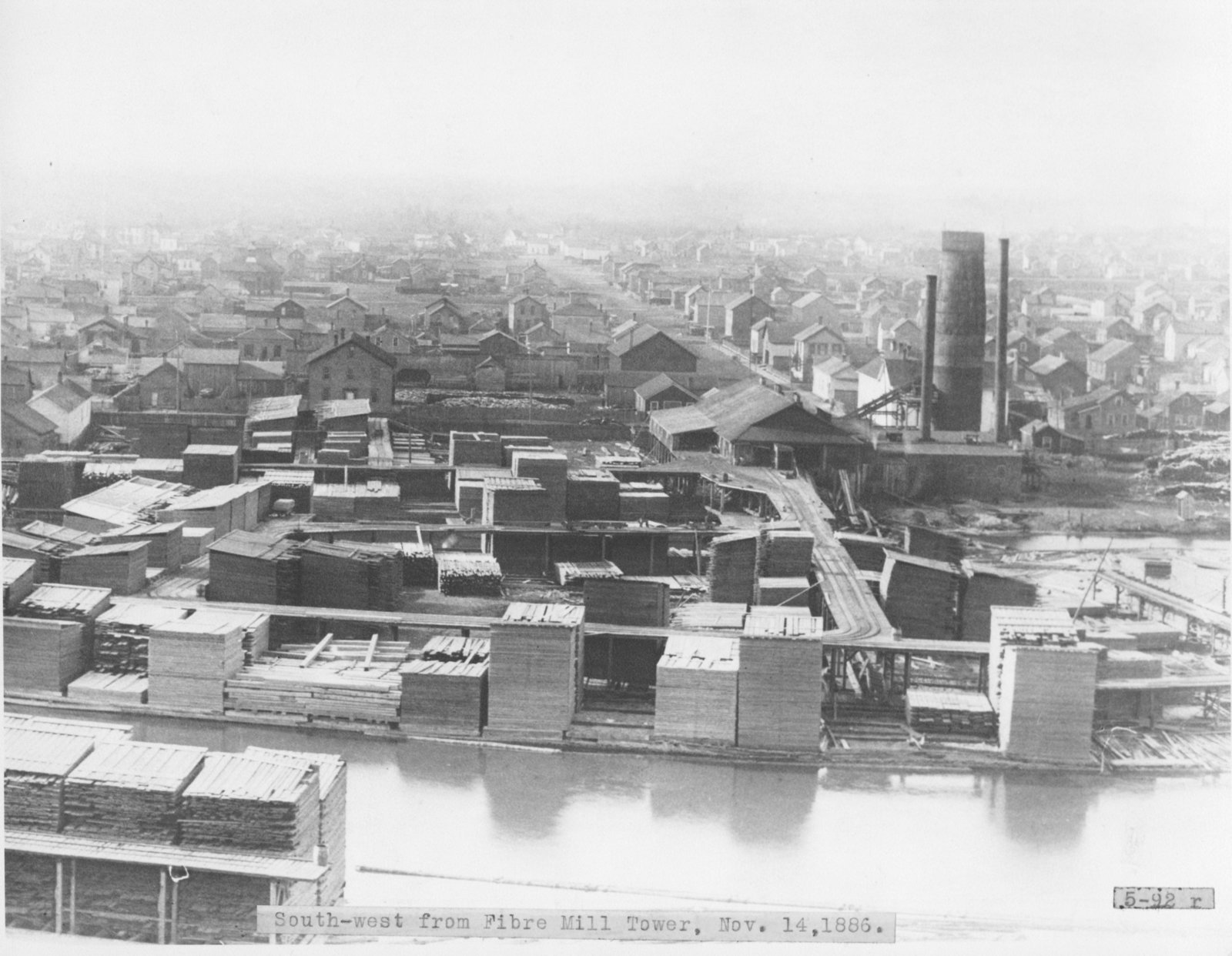 Comstock Lumber Mill and Residential Alpena