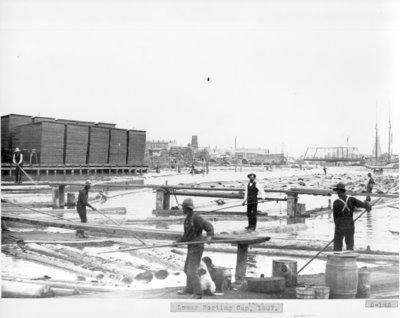 Sorting Gaps in the Thunder Bay River