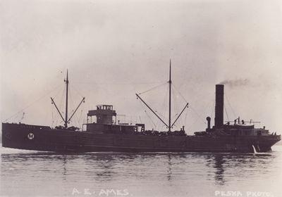 A.E. AMES (1903, Bulk Freighter)