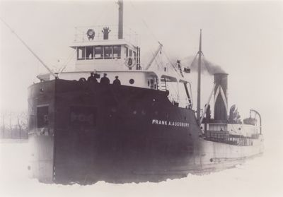 FRANK A. AUGSBURY (1922, Bulk Freighter)